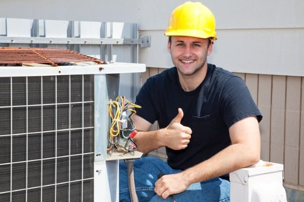 air condioner repairman