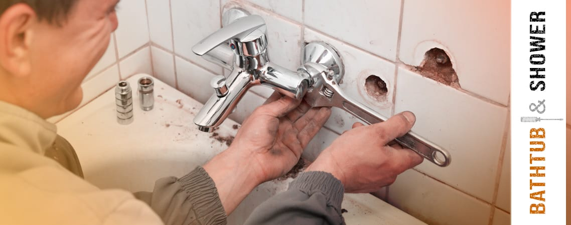 Bathtub and Shower plumbing repair