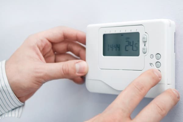 check boiler thermostat
