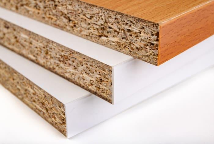 compressed wood with veneer