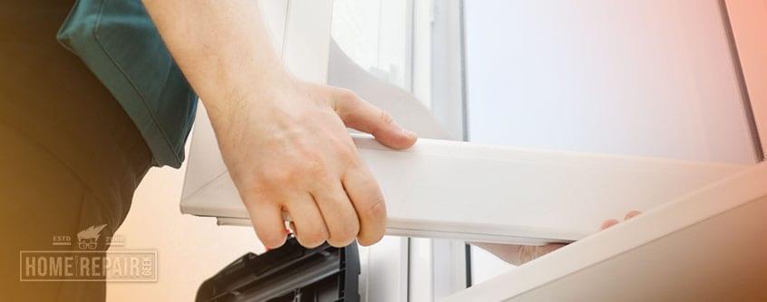 Repair double pane window