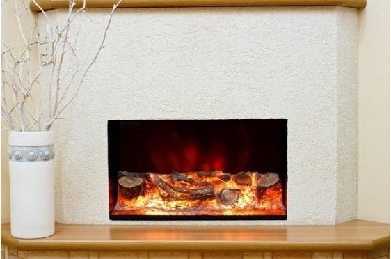 Electric fireplace example