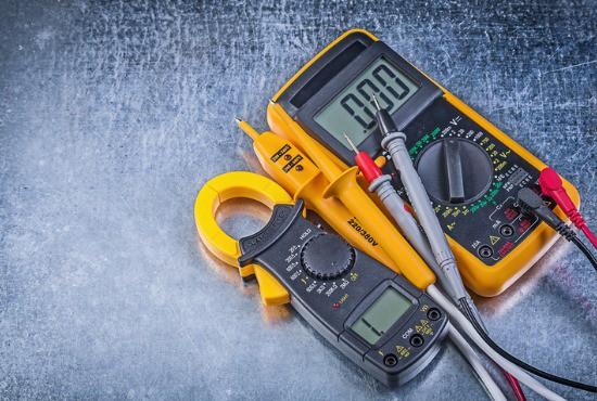 Multimeter to test flame sensor