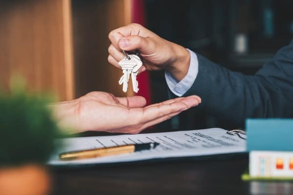 giving of key