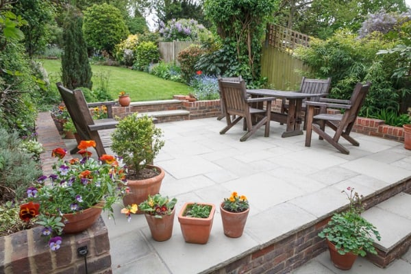 hard landscaping new luxury patio and garden uk