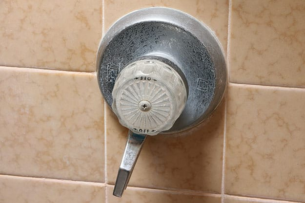 Shower Hot And Cold Valve.Hot And Cold Water Reversed On Faucet