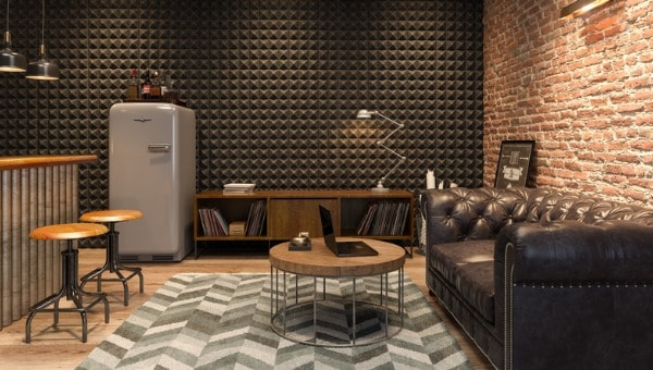 Using wall panels in basement