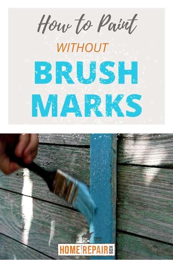 no brush marks pin