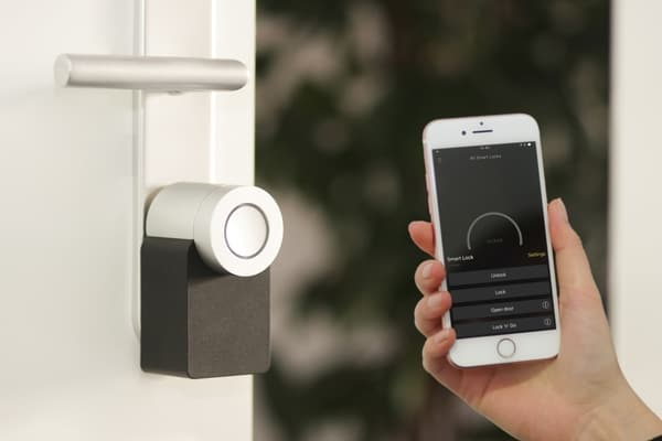 opening smart lock