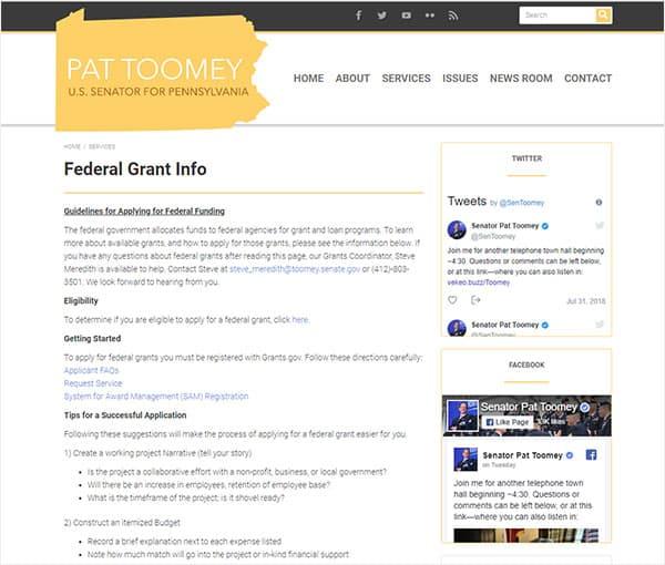 Info for Pennsylvania Home Grants