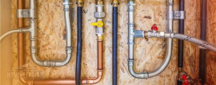 Noisy pipes inside wall