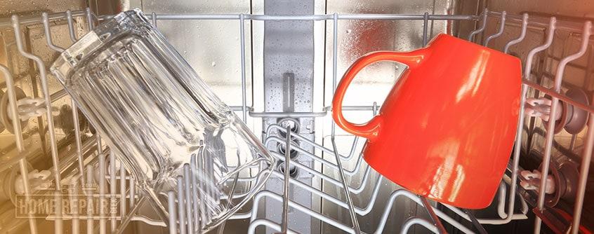 Fix rusted dishwasher rack