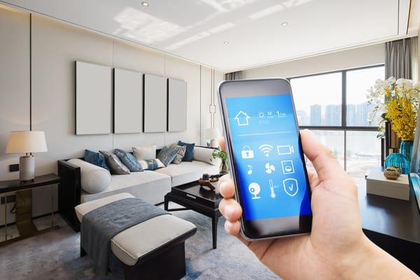 smart home menu