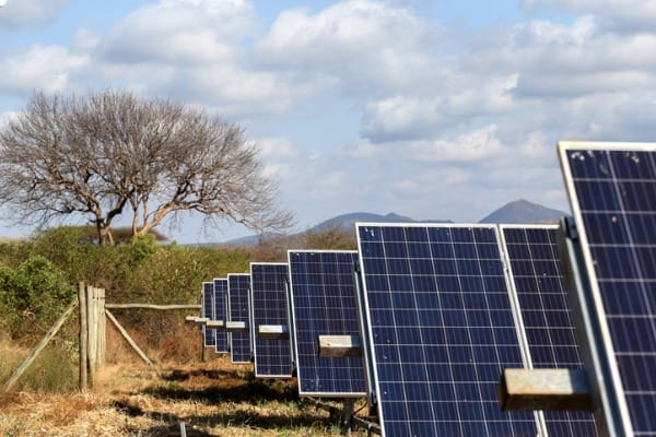 solar energy in remote spaces
