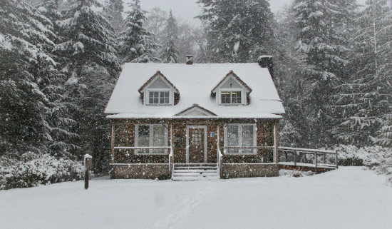 Protect home in winter