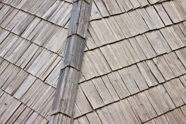 wood board roof sheathing