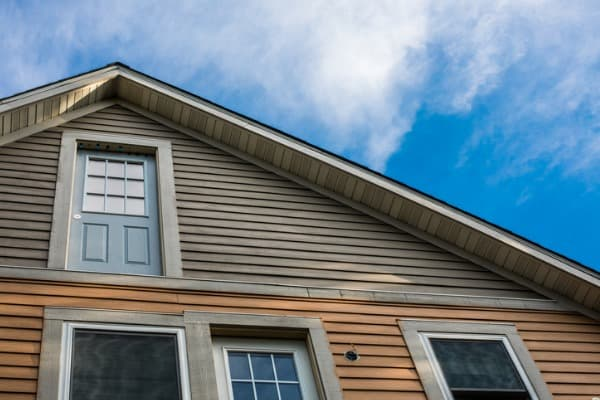 Using wood siding on house