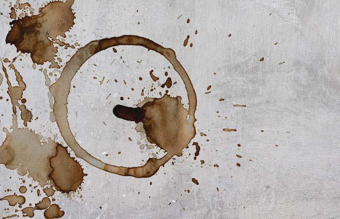 wood stain on floor