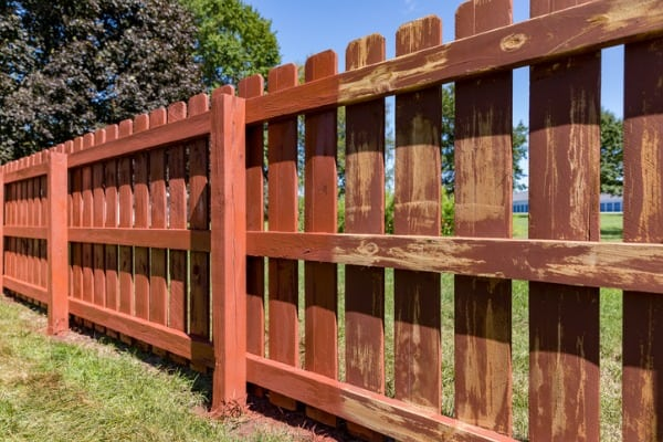 wooden-privacy-fence-in-backyard